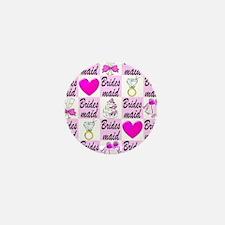 PRETTY BRIDESMAID Mini Button