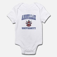 ABDULLAH University Infant Bodysuit