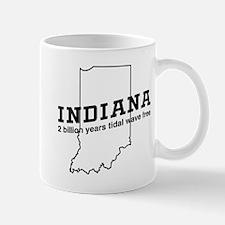 Indiana 2 billion years tidal wave free Mugs