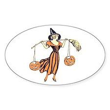 Vintage Halloween Dress 2 Decal