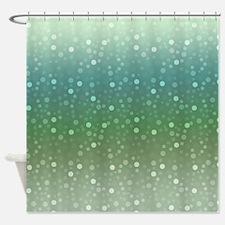Ombre Confetti Shower Curtain