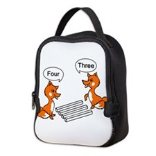 Cute Classic cartoon Neoprene Lunch Bag