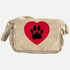 Cute Dog Messenger Bag
