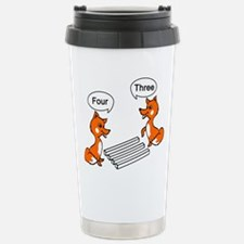 Funny Cute fox Travel Mug
