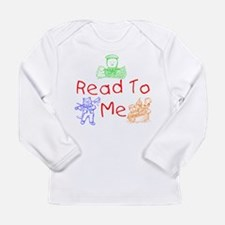Cute Book of me Long Sleeve Infant T-Shirt