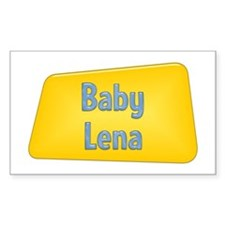 Baby Lena Rectangle Decal