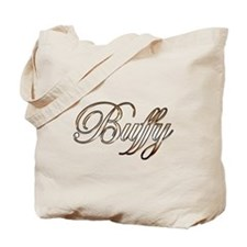 Gold Buffy Tote Bag