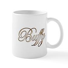 Gold Buffy Mugs