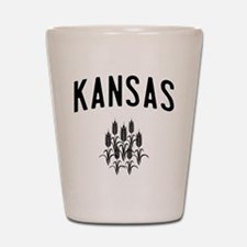 Kansas Wheat Shot Glass