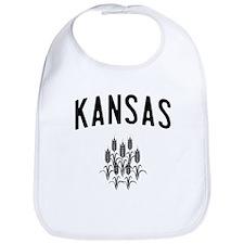 Kansas Wheat Bib