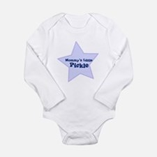 Cute Mom name Long Sleeve Infant Bodysuit