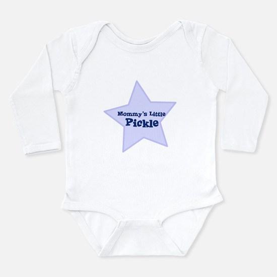 Cute Mamas boy Long Sleeve Infant Bodysuit