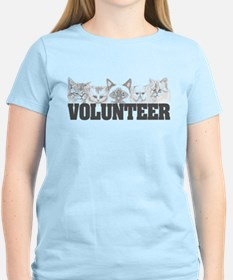 Volunteer (cats) T-Shirt
