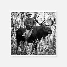 Teddy Roosevelt on Bullmoose Sticker