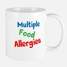 Multiple Food Allergies Mug