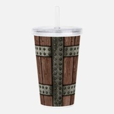 Medieval Chest Acrylic Double-wall Tumbler