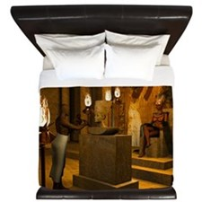 Queen Nefertitis Bust King Duvet
