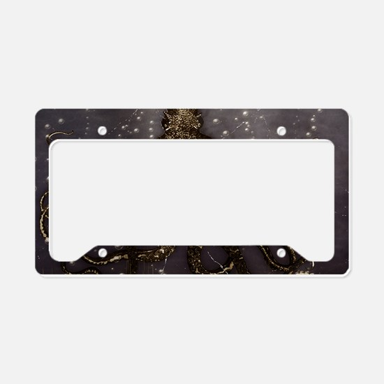 Octopus' lair - Old Photo License Plate Holder