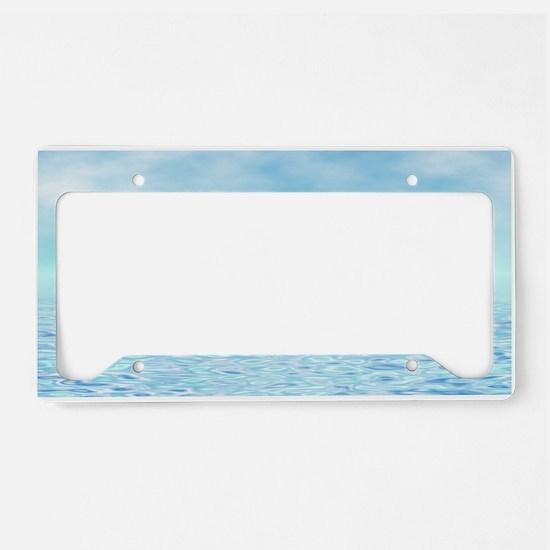 Sea of Serenity License Plate Holder