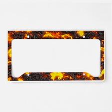 Hot Lava License Plate Holder