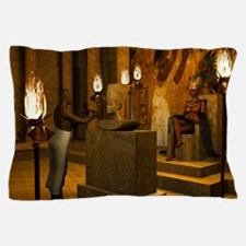 Queen Nefertitis Bust Pillow Case
