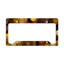 SteamCubism - Brass License Plate Holder