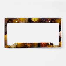 SteamCubism - Brass License Plate Holder