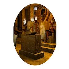 Queen Nefertitis Bust Ornament (Oval)