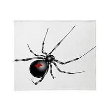 Black Widow - No Txt Throw Blanket