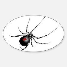 Black Widow - No Txt Sticker (oval)