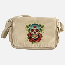 SugarSkull1 Messenger Bag