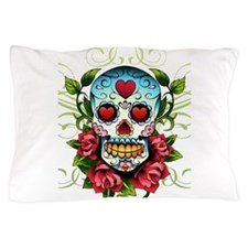 SugarSkull1 Pillow Case