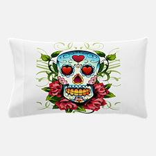 SugarSkull1 Pillow Case