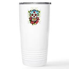 SugarSkull1 Travel Mug