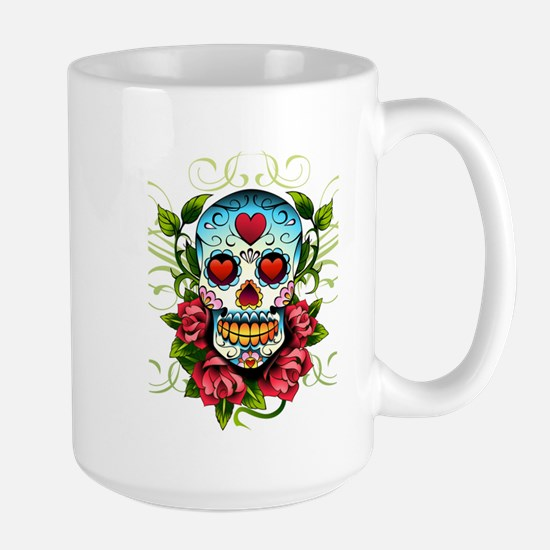 SugarSkull1 Mugs