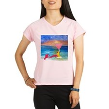 Cute Martini mermaids Performance Dry T-Shirt