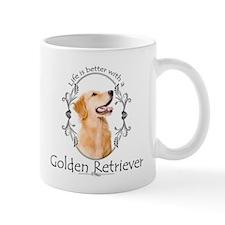 A Golden Life Mug