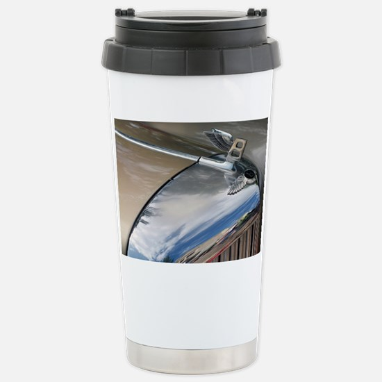 Bentley hood and badge  Stainless Steel Travel Mug