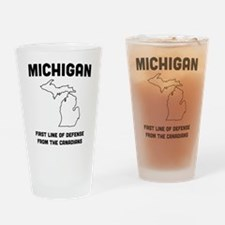 Michigan first line of defense from the Canadians