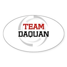 Daquan Oval Decal