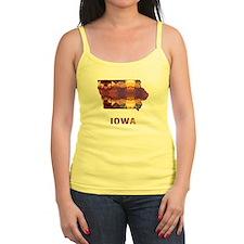 Funny Iowa state Jr.Spaghetti Strap