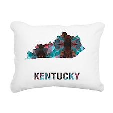 Cute Kentucky Rectangular Canvas Pillow