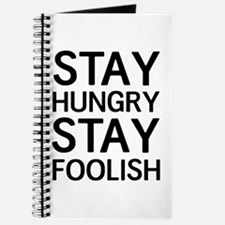 Stay Hungry Stay Foolish Journal