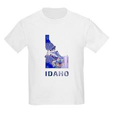 IDAHO MAP T-Shirt