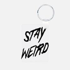 Stay Weird Keychains