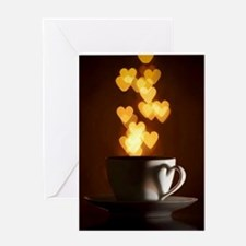 Coffee Love Greeting Cards