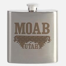 Moab Utah Dirt Flask