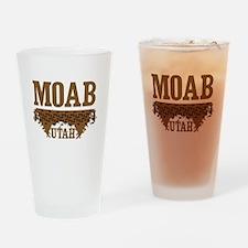 Moab Utah Dirt Drinking Glass