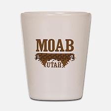 Moab Utah Dirt Shot Glass