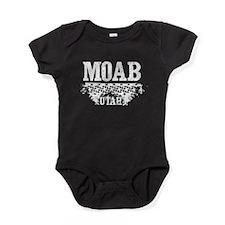 Moab Utah Dirt Baby Bodysuit